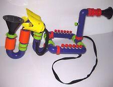 VINTAGE Toy Island WACKY SAX Music Instrument SAXOPHONE Music Sound Light RARE