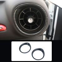 For Kia Cerato Forte K3 2019 2020 Black Dashboard Side Air Outlet Cover Trim