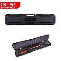 "50.5"" Rifle Shotgun Carry Case Hard Tactical Gun Padded Storage Outdoor AR Box"