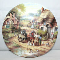 """Wedgwood - Early Morning Milk - Country Days Series - 8"""" Collectors Plate - VGC"""