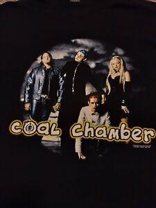 """Coal Chamber"" Vintage Band T - Shirt - Size XL."