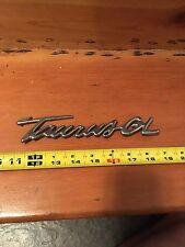 """Ford 1996-1999 Tarus  GL Emblem Nameplate F7DZ-7442528-BA """"New Old Stock"""" Script"""
