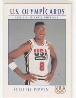 "SCOTTIE PIPPEN 1992 Impel US Olympicards #15 Chicago Bulls Mint ""The Last Dance"""