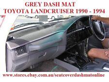 DASH MAT, DASHMAT, DASHBOARD COVER FIT  TOYOTA LANDCRUISER 80ser 1990-1994  GREY