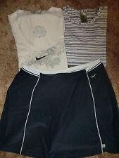 2 x Tennis-Shirt - und Rock mit Pant von NIKE