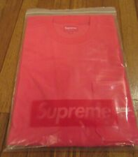 Supreme Terry Pocket Tee Size Large Red SS19 Supreme New York SS19KN49 2019 DS