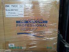 "URMET DOMUS 1090/444 monitor 14"" colori CRT tubo catodico TVCC professionale"