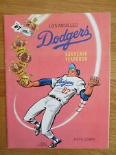 1967 LOS ANGELES DODGERS Yearbook DON DRYSDALE SUTTON WES PARKER WILLIE DAVIS