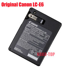 Genuine Canon LC-E6 Charger for EOS 5DIII 5DIV 60D 6D 7D 70D 80D LP-E6 LP-E6N