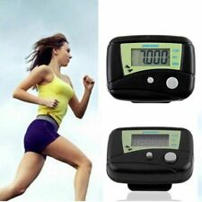 Black Multifunctional Electronic Digital LCD Run Step Run Pedometer Walking Calo
