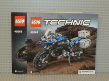 LEGO® Technic Bauanleitung 42063 BMW R 1200 GS A & B Modell instruction B3450