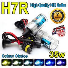H7R 3000k HID LAMPADINE 35w Replacment AC Xenon base in metallo PER FARI UK venditore 3k