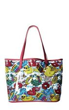 💋 Luv Betsey® Cadi Clear Tote Handbag W/Removable Makeup Pouch Duck Charm