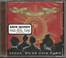 FALL OUT BOY Sugar We're Goin Down UNRELEASE & REMIX & VIDEO UK CD Single SEALED