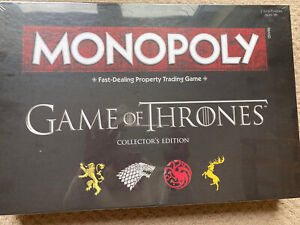 Monopoly - Game Of Thrones - Collectors Edition New & Sealed