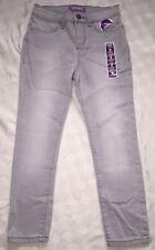 NWT Old Navy Girls Rockstar Jegging Crop Vintage Wash Gray Stretch Jeans Size 8