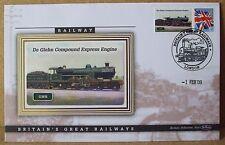 2009 Ltd Ed Benham Error Cover - GWR  De Glehn Compound Express Engine