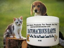 Food Grade Organic Diatomaceous Earth For Flea And Tick Control 3 OZ For Pets