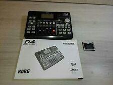 KORG D4 Digital Recorder 4 Track MTR Compact Flash Multi Track Recorder F/S New