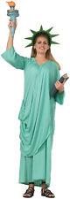 Statue of Liberty Adult Womens Costume Robe Patriotic USA American Halloween