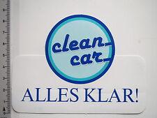 Pegatina Sticker Clean Car todo claro (7607)