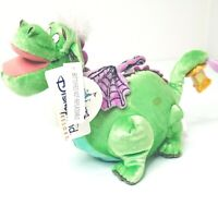 "Disneland Resort Disney's Electrical Parade Elliot Dragon 9"" Plush Toy NWT"