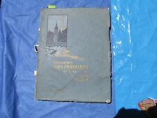 """Modern San Francisco 1907 Edition DE Luxe  144 Illustrated pages. 9""""x12"""""""
