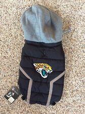 NWT Jacksonville Jaguars NFL Puffer Vest Dog Coat Jacket Football Pet Medium M
