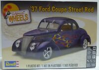 NEW Revell '37 FORD COUPE STREET ROD 1:24 Scale Model Kit ~ SEALED
