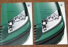 2000 New Model VW SHARAN Sales Brochure & Tech Data - Carat Sport S SE 4MOTION