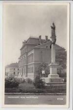 AK Haugsdorf, Hauptplatz, Foto-AK 1959