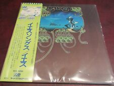 YES YESSONGS RARE  JAPAN P-5087-9A-STEREO LP QUADFOLD JACKET 3 LP SET MINT MINUS