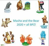 Komplettsatz Masha und der Bär 7 2020 aus Russland alle Bpz Masha and the Bear 7