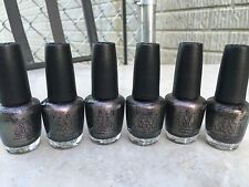 6 X OPI THE WORLD IS NOT ENOUGH (HL D18) HTF!!!!!
