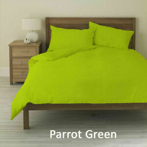 Parrot Green Solid AU Queen Size Sheet Set 1000 Thread Count Egyptian Cotton