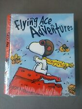 Snoopy Peanuts WWI Flying Ace Fighter Pilot Tin Book Stash Box