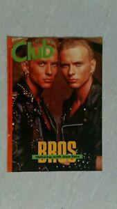 "decembre 1989 special BROS magazine N°3"" CLUB"" english revue-free port!"