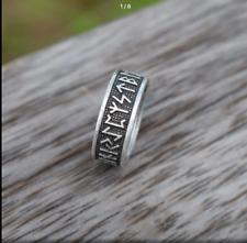 Nordic Viking Rune Anello Taglia S