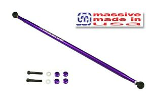 MSS Panhard Adjustable Bar Rod 05-14 Mustang GT 500 S197 w/ DUST BOOTS 4.6 5.4