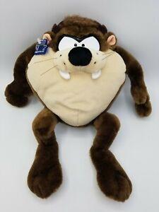 Vintage Applause 1997 Tazmanian TAZ Devil Plush Looney Tunes Stuffed Toy Sounds