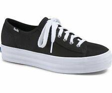 e4de457a92f Keds WH57302 Women s Triple Kick Platform Sneaker Black