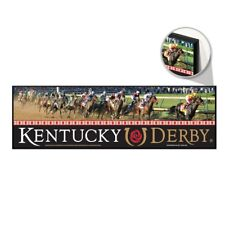 """KENTUCKY DERBY CHURCHILL DOWNS RUN FOR THE ROSES WOOD SIGN 9""""x30"""" NEW WINCRAFT"""