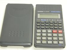 CASIO fx-250 HCS Scientific Fraction Calculator - Tested & Works GreaT w. Case: