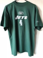 REEBOK NFL NEW YORK JETS BRETT FAVRE  4 SIZE M T SHIRT 57a976783