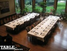 CUSTOM DINING TABLE PADS & 2 EXTENSION LEAF PADS - LEAVES PAD COVER PROTECT TOP