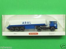 "1:87 Wiking 078005 Tanksattelzug Scania 111 ""Aral"" Blitzversand per DHL-Paket"