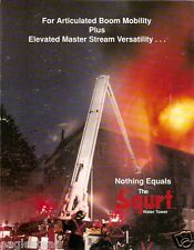 Fire Equipment Brochure - Snorkel - The Squrt - 2 items - c1990 (DB98)