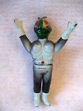 BANDAI vintage Japanese KAMEN RIDER soft vinyl figure RARE sofubi Tokusatsu toy