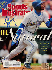 Ken Griffey Jr Mariners SIGNED Sports Illustrated COA!