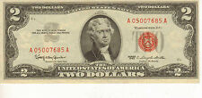 1963  $2  US Note, Red Seal, High Grade Note  (J-60)